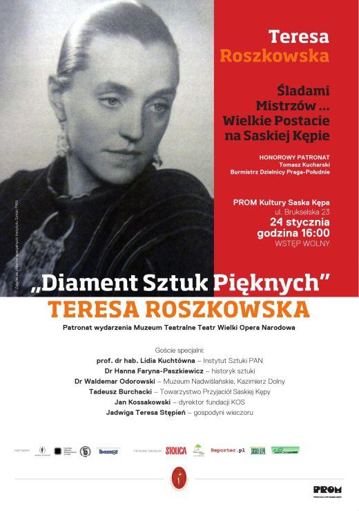 Teresa Roszkowska - Diament sztuk pieknych