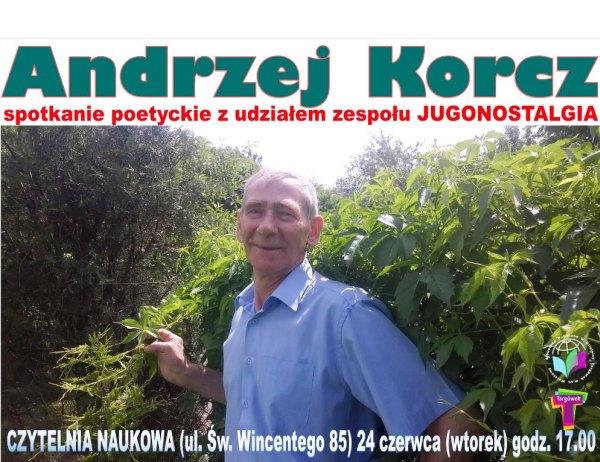 Wieczór poetycki Andrzeja Korcza