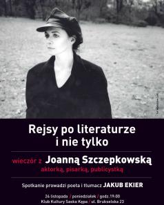 Joanna Szczepkowska - rejsy po literaturze i nie tylko
