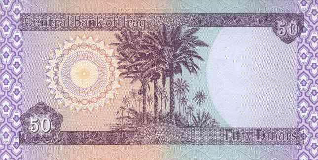 Łapówka w irackich dinarach