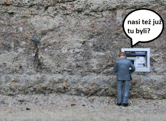 Bankomat na Bielanach  wysadzony