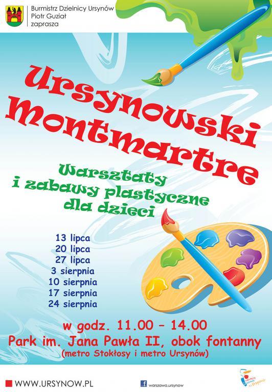 Ursynowski Montmartre - Warsztaty i zabawy plastyczne dla dzieci