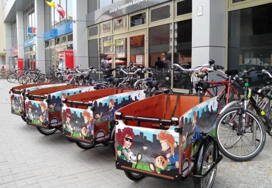 Rowery towarowe już na Pradze Południe