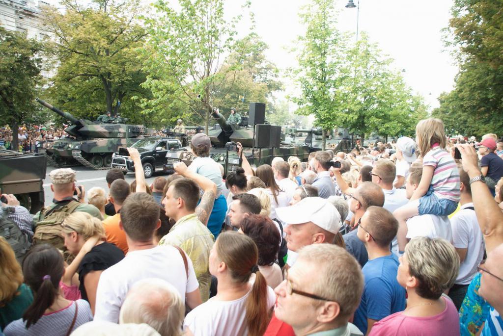 Cud nad Wisłą po raz 94 i Obchody  Święta Wojska Polskiego
