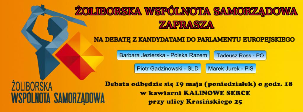 7. Debata Europejska - Żoliborz