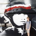 Mural dla upamiętnienia 70 Rocznicy Powstania Warszawskiego