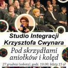 Krzysztof Cwynar i studio integracyjne - kolędowanie w Kalinowym Sercu!