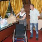 Żagielek dobroczynności pomaga chłopcu z Ukrainy