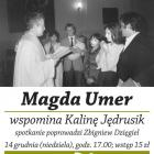 Magda Umer wspomina Kalinę Jędrusik!
